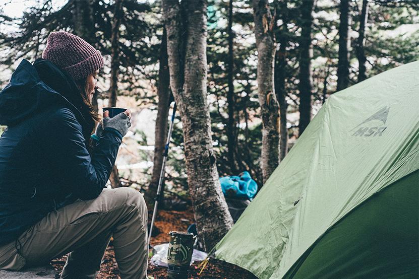 Camping idéal pour la tranquillité